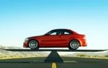 Idealus BMW 1M svorio balansas