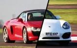 Porsche Boxter ir Audi R8 dvikova