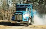 Ketvirtis mylios per 14,1 sekundės sunkvežimyje