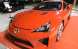 Kaip raudonasis Lexus LFA pietų Floridoje riaumojo