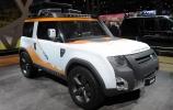 Penktasis konceptinis Land Rover DC100