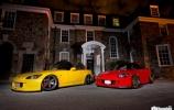 Kai raudona ir geltona dera tobulai: Honda S2000