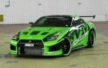 Žaliojo Nissan GT-R užmojai pagerinti pasaulio rekordą
