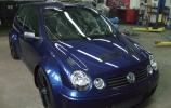 Volkswagen Polo ir Mitsubishi EVO hibridas