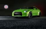 Žaliasis Hulkas Nissan GT-R