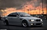 BMW M3 E46 snaigė