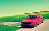 Nepamirštamas idealios būklės VW Golf II