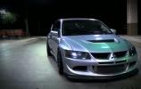 Keturių varančiųjų ratų raketa - Mitsubishi EVO 8