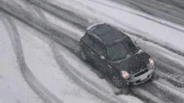 Žiema JAV vairuotojams