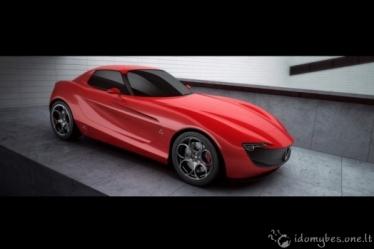 Alfa Romeo Prancūzijos dizainerio akimis