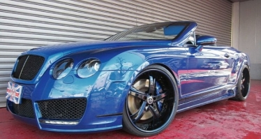 Bentley Continental GTC patobulintas Office K