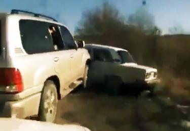 Pakvaišę Čečėnijos vairuotojai
