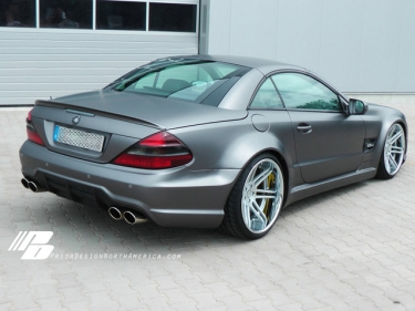 Mercedes Benz SL R230 pagal Prior Design