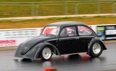 Elektrinis sportinis Volkswagen Beetle
