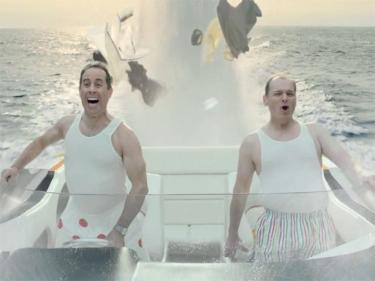 Labai linksma NSX reklama