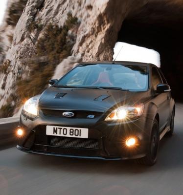 Ford Focus RS500 gamybos akimirkos