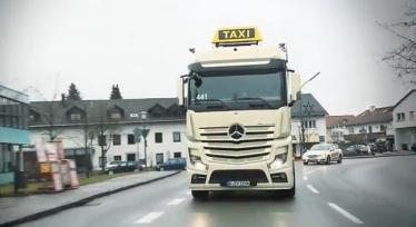 Taksi automobilis Mercedes-Benz Actros