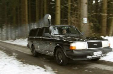 Autonominis Volvo 240 šildymas