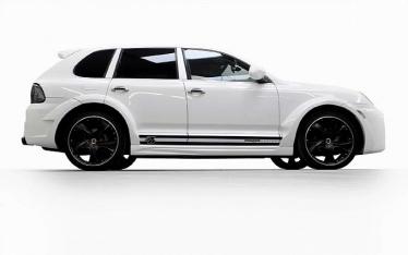 Porsche Cayenne su Prior Design tuningu