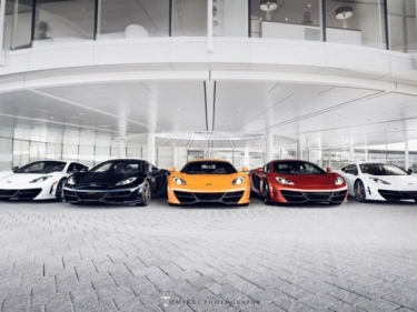 McLaren MP4-12C High Sport foto sesija