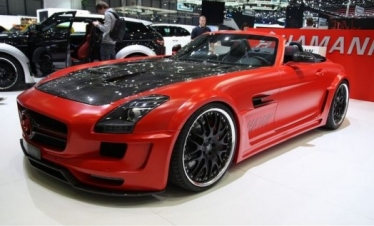 Mercedes SLS AMG Hawk Roadster