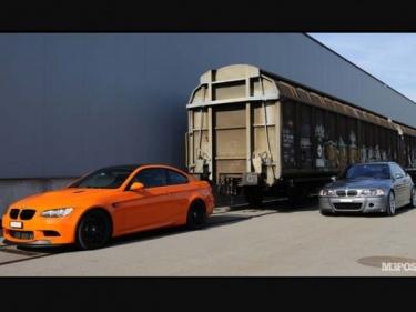 Labai retų, beprotiškų BMW M3 fotosesija