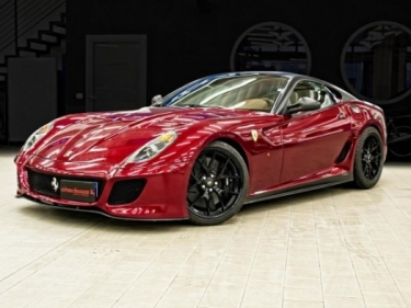 Dar gražesnis Ferrari 599 GTO