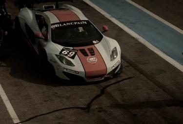 McLaren MP4-12C GT3 jau pasirodė