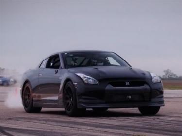 AMS Alpha Omega GT-R maksimalaus greičio rekordai