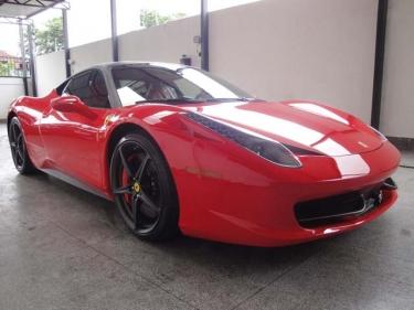 Ferrari 458 Italia Novitec Rosso kūrinys
