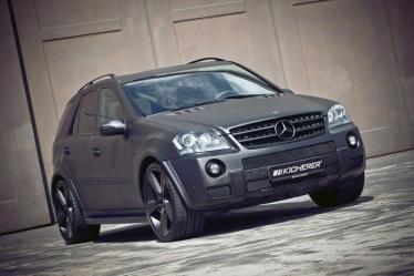 """Kicherer kompanijos """"darbeliai"""": Mercedes-Benz ML63 AMG"""