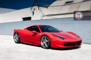 HRE Performance Wheels papuošė Ferrari 458 Italia