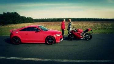"""""""Britva"""" prieš Audi TT RS Plus"""
