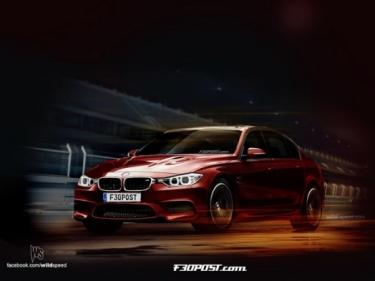 Naujojo BMW M3 užuominos