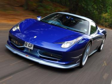 Mėlynasis Italų Ferrari 459 Italia Emazione