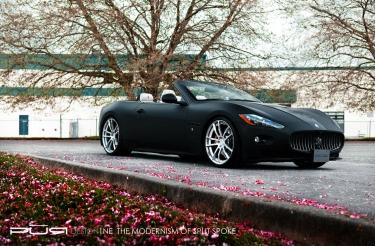 Maserati GranCabrio Sport ir PUR Wheels bendradarbiavimas