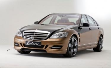 Ekstravagantiškas Lorinser projektas - Mercedes-Benz S Class