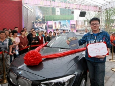 Kantrus kinas laimėjo naujutėlaitį BMW 1