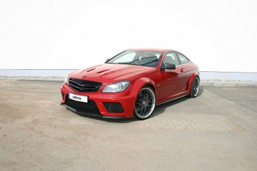 Vatch kompanijos Mercedes-Benz C63 AMG Black Series projektas