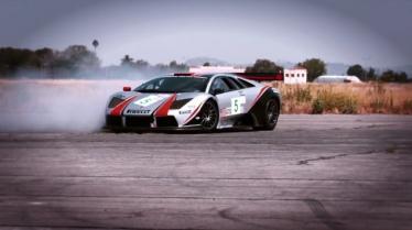Lamborghini lėktuvų pakilimo take