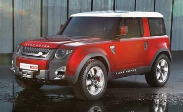 Land Rover Defender koncepcija